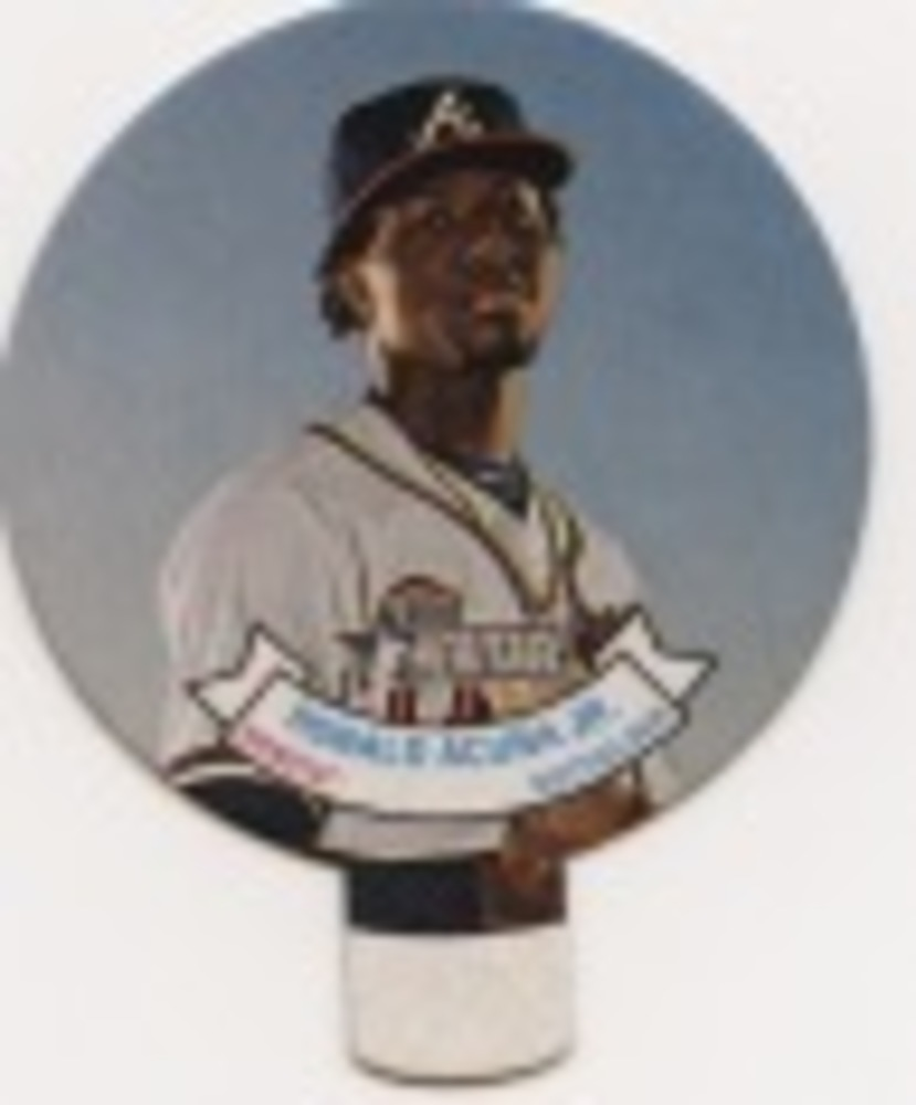 2019 Topps Heritage '70 Topps Candy Lids #25 Ronald Acuna Jr.