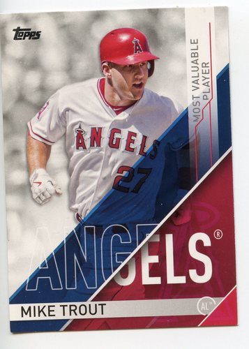 Photo of 2017 Topps MLB Awards #MVP1 Mike Trout