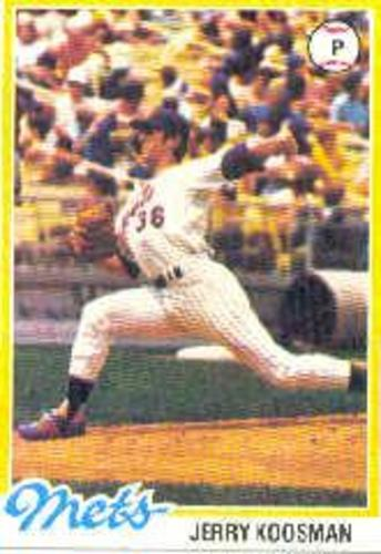Photo of 1978 Topps #565 Jerry Koosman