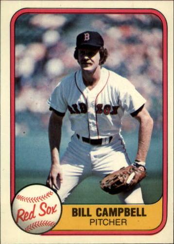 Photo of 1981 Fleer #240 Bill Campbell