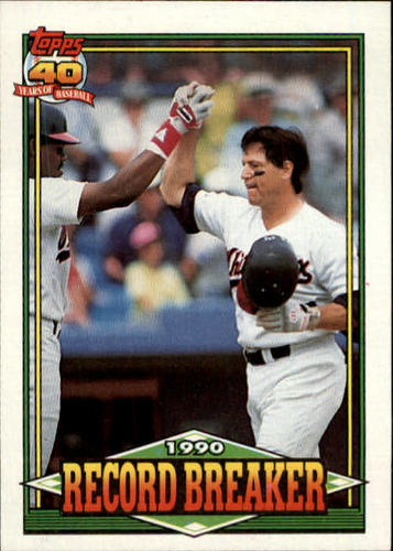 Photo of 1991 Topps #3 Carlton Fisk RB
