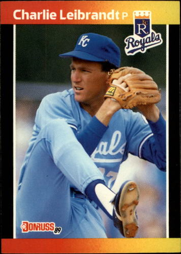 Photo of 1989 Donruss #89 Charlie Leibrandt