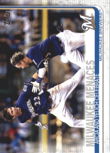 Photo of 2019 Topps #625 Milwaukee Menaces/Christian Yelich/Orlando Arcia