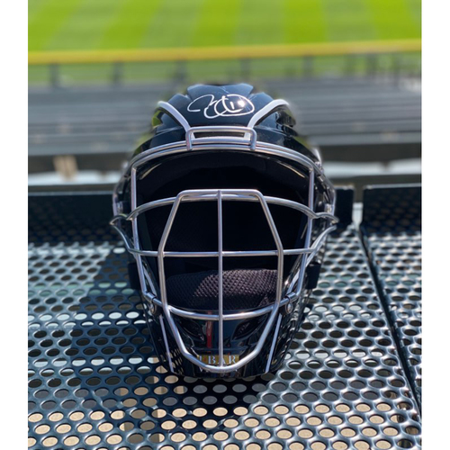 Photo of Colorado Rockies Foundation:Tony Wolters Team-Issued Autographed Catcher'sHelmet(Autograph NOT MLB Authenticated - COA included)