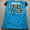 Jaguars - Eugene Monroe Game Issued Jersey 48