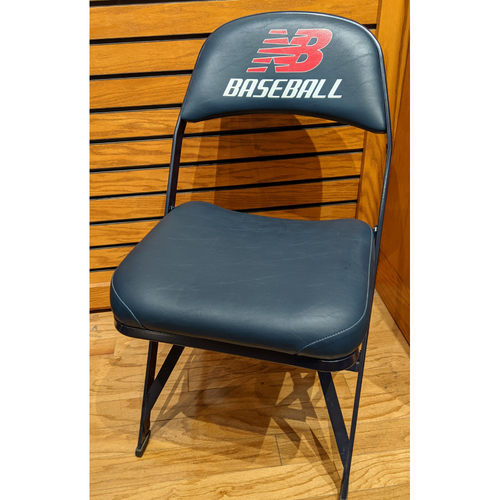 Fenway Park Visitor's Clubhouse Game Used Hisashi Iwakuma Locker Room Chair