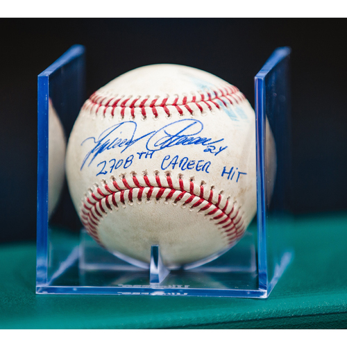 Photo of Cabrera Exclusive! Autographed Game-Used Baseball: Miguel Cabrera Career Hit #2708 (MLB AUTHENTICATED)