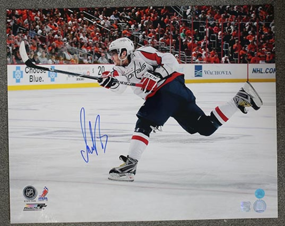 Alexander Ovechkin Washington Capitals Autographed Slapshot 16x20 Photo