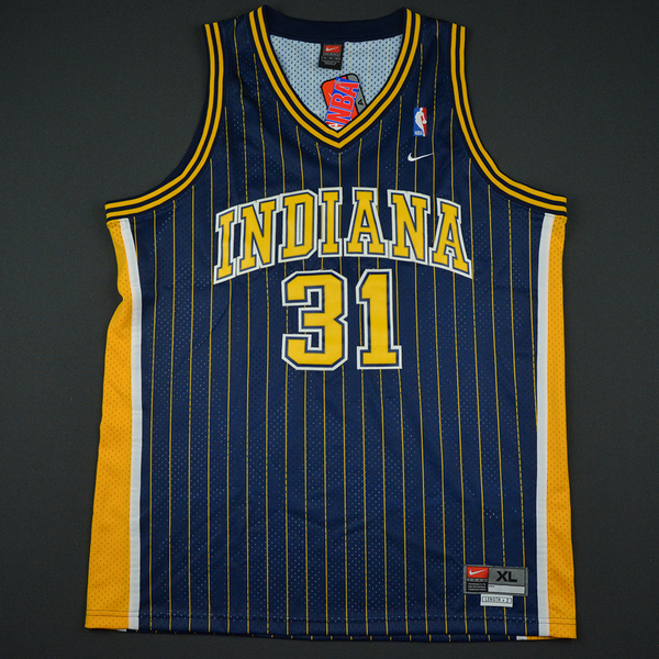 Reggie Miller Autographed Indiana Pacers Jersey - Charity Auction ...