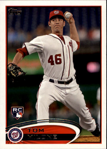 Photo of 2012 Topps #40 Tom Milone RC