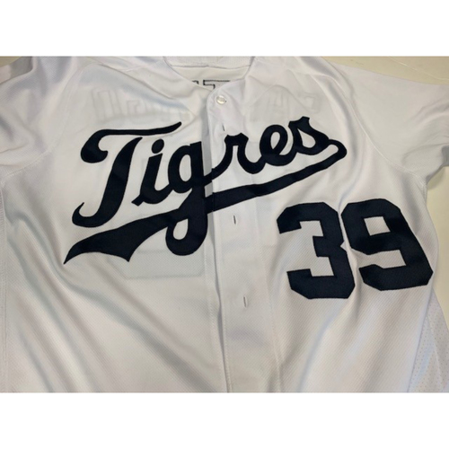Photo of Team-Issued Fiesta Tigers Jersey: Ramon Santiago