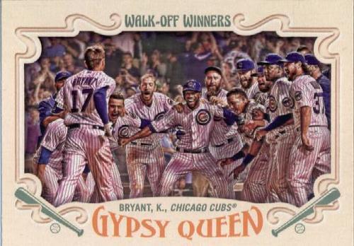 Photo of 2016 Topps Gypsy Queen Walk Off Winners #GWO10 Kris Bryant