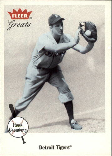 Photo of 2002 Greats of the Game #100 Hank Greenberg
