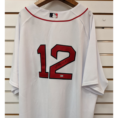 Photo of Brock Holt #12 Autographed Home Jersey