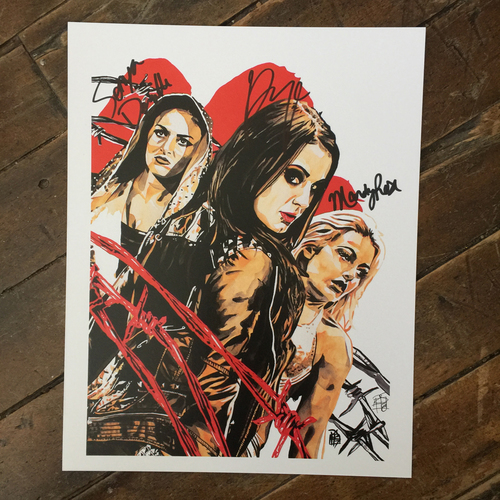 Absolution SIGNED 11 x 14 Rob Schamberger Print