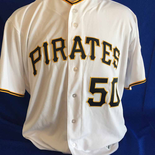 Photo of UMPS CARE AUCTION: Jameson Taillon Signed Jersey - Size 52