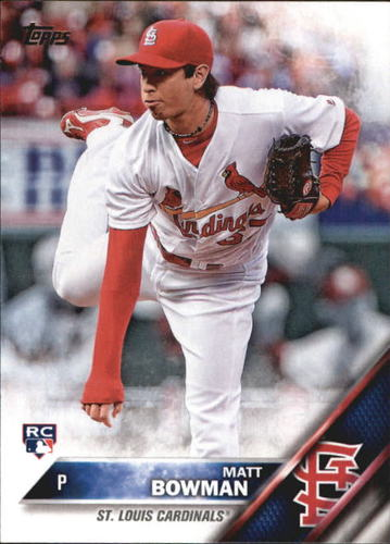 Photo of 2016 Topps Update #US149 Matt Bowman RC