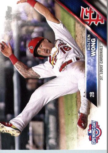 Photo of 2016 Topps Opening Day #OD105 Kolten Wong