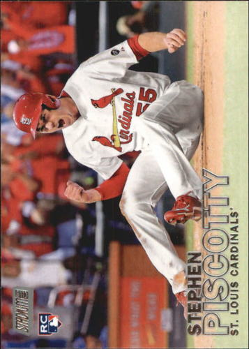 Photo of 2016 Stadium Club #151A Stephen Piscotty Rookie Card