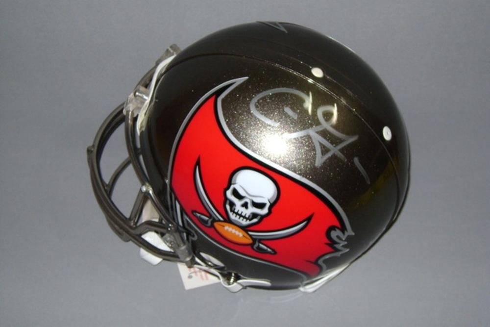 NFL - Buccaneers Chris Godwin signed Buccaneers proline helmet