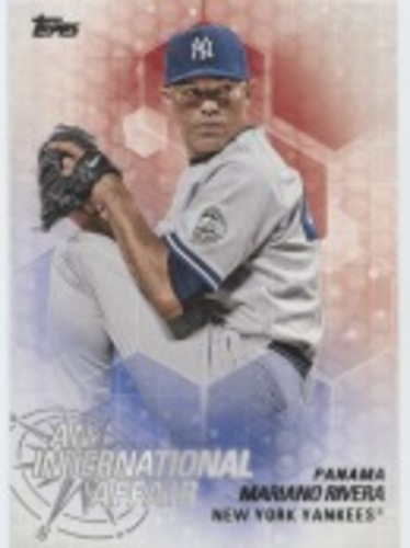 Photo of 2018 Topps Update An International Affair #IA31 Mariano Rivera