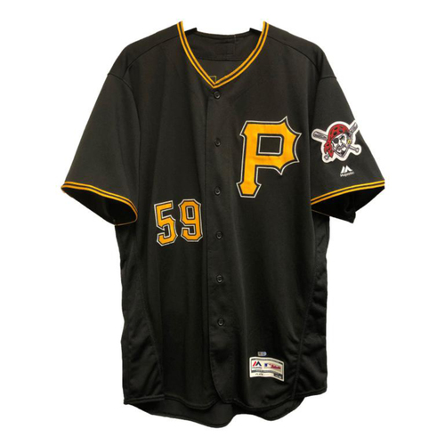 Photo of 2018 Game-Used Joe Musgrove Black Alternate Jersey