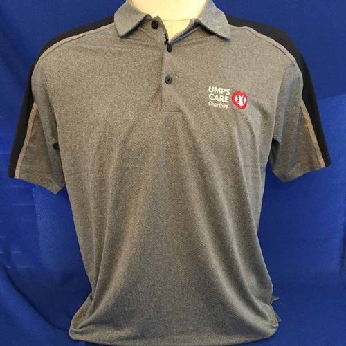Photo of UMPS CARE AUCTION: UMPS CARE Antigua Sustain Polo Shirt, Dark Gray (Select Your Size)