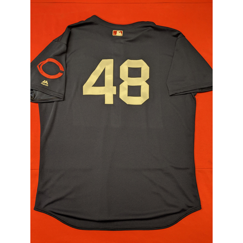 Jared Hughes -- Game-Used Jersey/Pants -- 1911 Throwback worn 5/5/19 -- Jersey Size - 52; Pants Size - 39-47-20