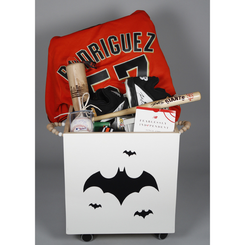 "Photo of Giants Wives Auction: Dereck Rodriguez ""Favorite Things"" Basket"