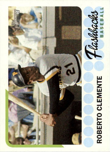 Photo of 2016 Topps Heritage Baseball Flashbacks #BFRCL Roberto Clemente