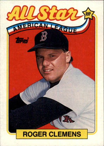 Photo of 1989 Topps #405 Roger Clemens AS