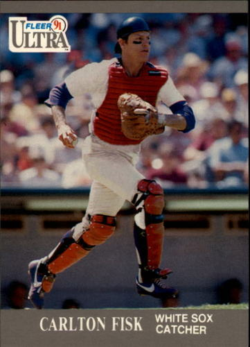 Photo of 1991 Ultra #72 Carlton Fisk