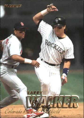Photo of 1997 Fleer #319 Larry Walker