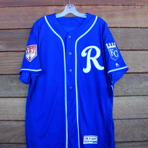 Photo of Team-Issued #95 Jersey (Size 48)