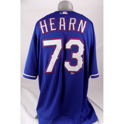 Photo of Final Season Team-Issued Jersey - Taylor Hearn - 4/30/2019