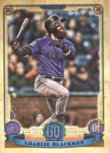 Photo of 2019 Topps Gypsy Queen #11 Charlie Blackmon