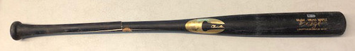 Photo of Game-Used Cracked Bat -- Brady Singer to Kris Bryant, Ground Out, Bot 2 -- Royals vs. Cubs -- 8/4/2020