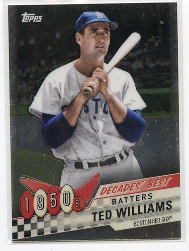 Photo of 2020 Topps Decades' Best Chrome #DBC14 Ted Williams