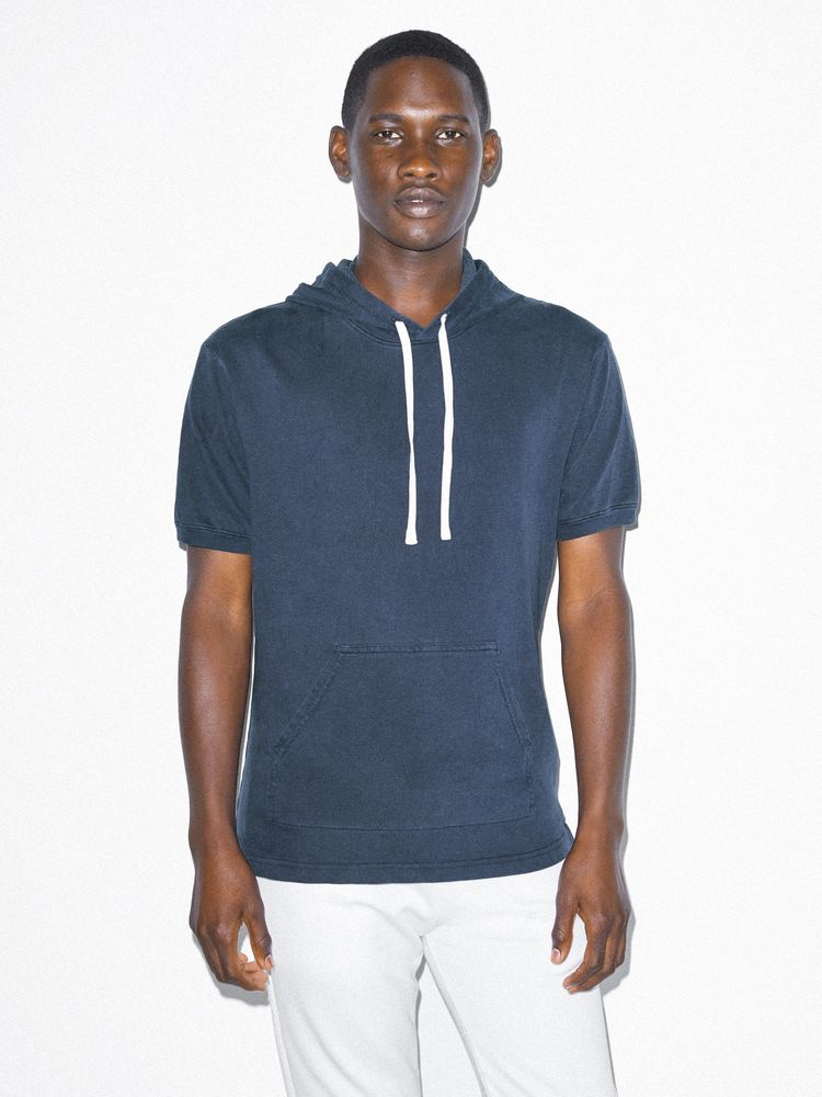 Photo of American Apparel French Terry Short Sleeve Hoodie