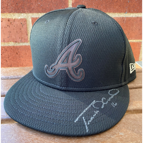 Photo of Travis d'Arnaud MLB Authenticated Autographed Players Weekend (7 3/8) Hat
