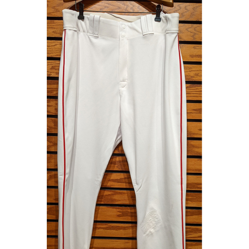 David Ortiz Team Issued Home White Pants
