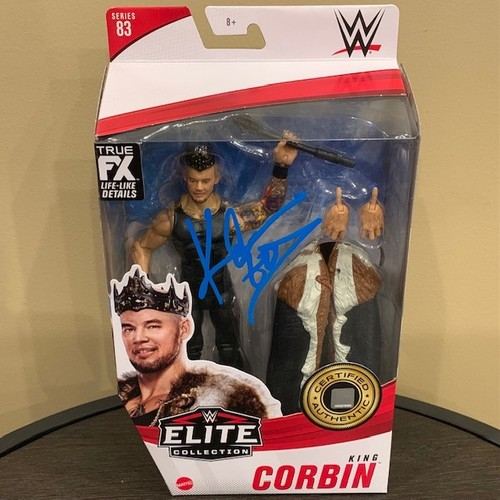 Photo of King Corbin SIGNED WWE Elite Series 83 Action Figure