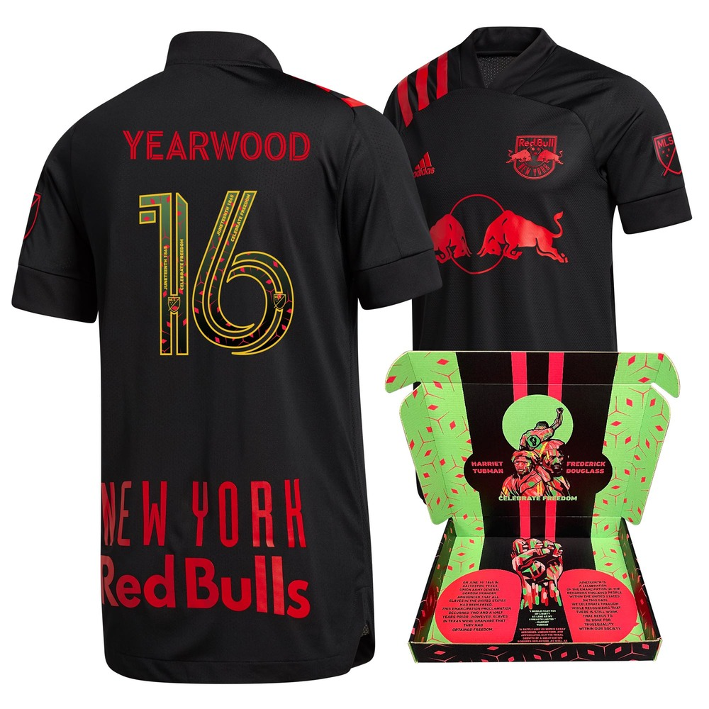 Dru Yearwood New York Red Bulls Match-Used & Signed