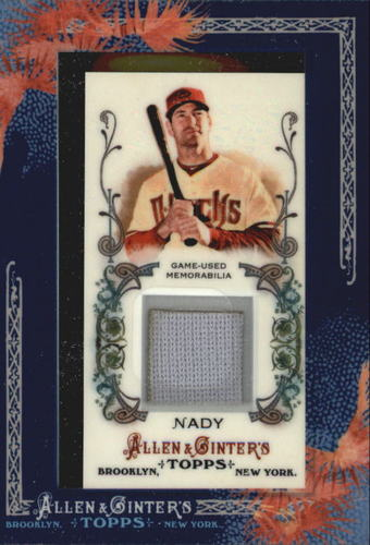 Photo of 2011 Topps Allen and Ginter Relics #XN Xavier Nady