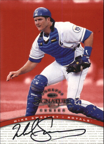 Photo of 1997 Donruss Signature Autographs #94 Mike Sweeney/3900