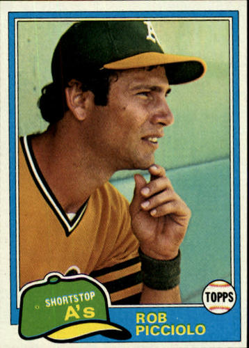 Photo of 1981 Topps #604 Rob Picciolo