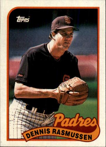 Photo of 1989 Topps #32 Dennis Rasmussen