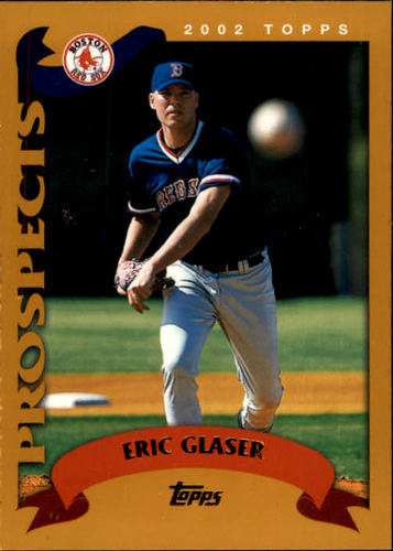 Photo of 2002 Topps #322 Eric Glaser PROS RC