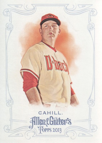 Photo of 2013 Topps Allen and Ginter #141 Trevor Cahill
