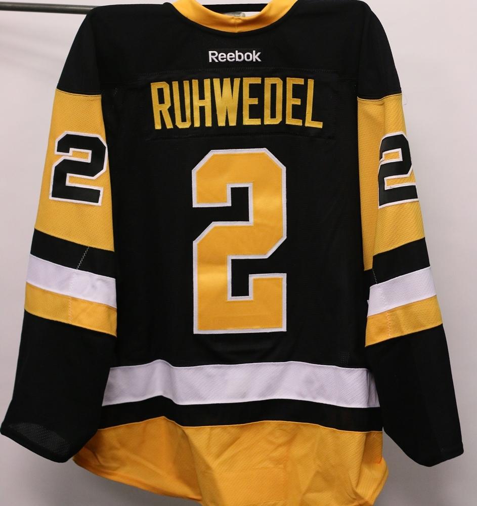 brand new 0d101 f14fd Chad Ruhwedel Pittsburgh Penguins